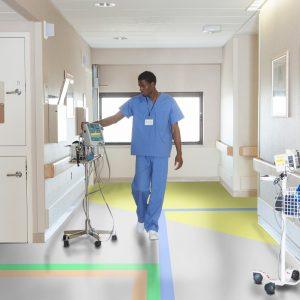vinyl ziekehuisvloer