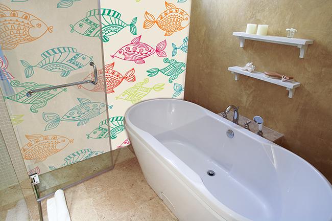 Gladde Wanden Badkamer : Wandbekleding 546 print vloeren voor gepersonaliseerde vloeren