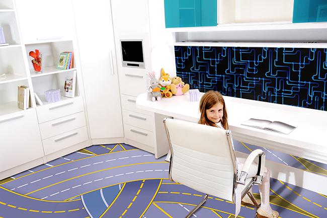 Zeil Vloer Houtlook : Vloer naadloos patroon print vloeren voor gepersonaliseerde